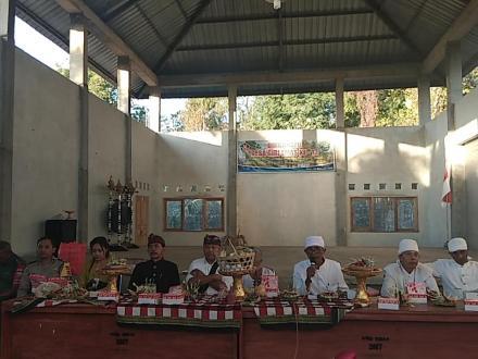 Pembukaan Kegiatan Pesraman Pemangku 2019 Desa Pekraman Sangsit Dangin Yeh