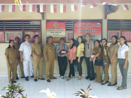 Deteksi Dini dan Pemantauan Faktor Risiko PTM di Pos Binaan Terpadu (Posbindu) Desa Giri Emas