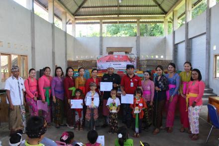 Bulan Bahasa Bali Desa Giri Emas, 27 Februari 2020