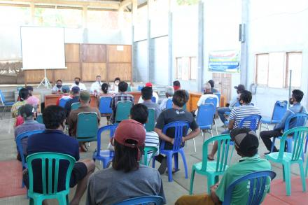 Bantuan Langsung Tunai Dana Desa ( BLT DD ) Tahap II Periode Agustus Telah Direalisasikan
