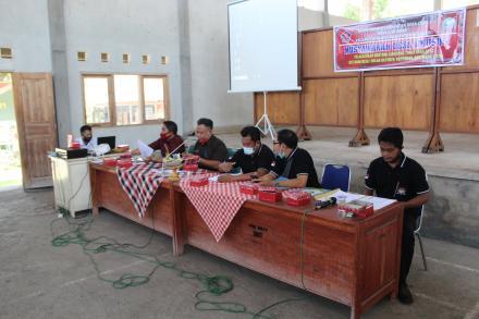 Badan Permusyawaratan Desa ( BPD ) Menyelenggarakan Musdes Khusus Tentang Penyaluran BLT Desa 2020