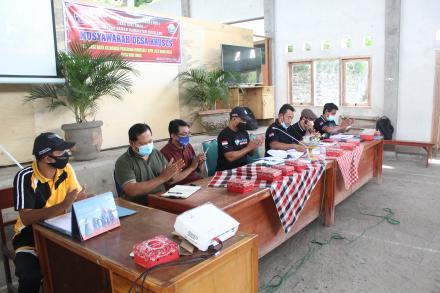 Musyawarah Desa Khusus ( MUSDESUS ) Validasi,Pendataan,Penetapan KPM BLT DD Tahun 2021